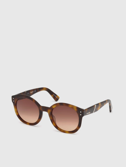 Diesel - DL0252, Brown - Sunglasses - Image 4