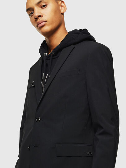 Diesel - J-HOOK, Black - Jackets - Image 5
