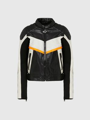 ASTARS-LQUATTRO-B, Black - Leather jackets