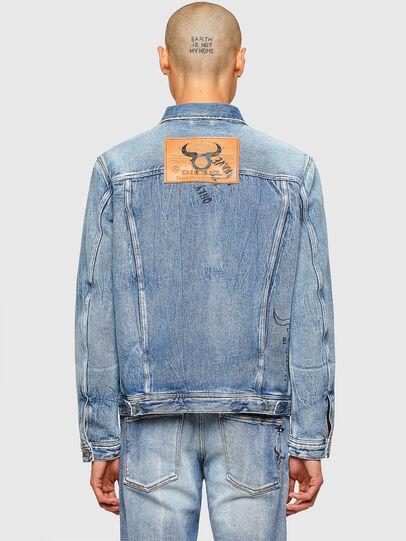 Diesel - CL-D-BIL, Light Blue - Denim Jackets - Image 3