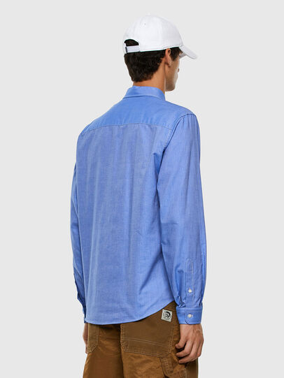 Diesel - S-JAMES, Light Blue - Shirts - Image 5