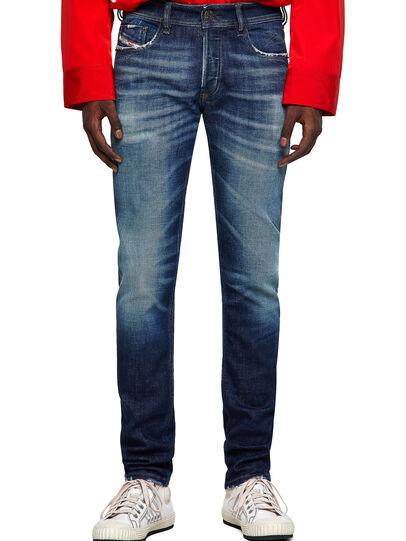 Diesel - Sleenker 09A27, Dark Blue - Jeans - Image 1
