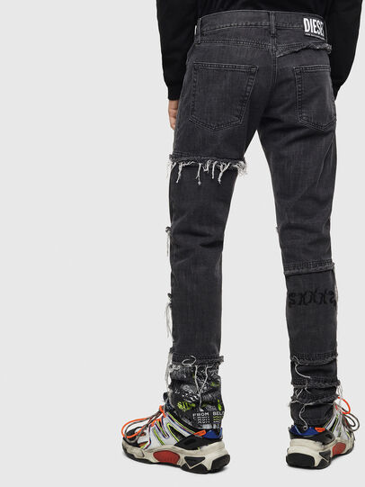 Diesel - D-Kras 009CD, Black/Dark grey - Jeans - Image 2
