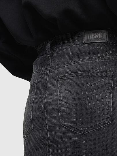 Diesel - D-IMANI-P-SX JOGGJEANS, Black/Dark grey - Skirts - Image 5