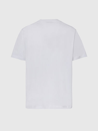 Diesel - T-JUST-X65, White - T-Shirts - Image 2