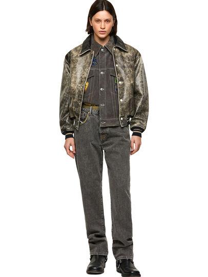 Diesel - DxD-2, Black - Leather jackets - Image 8