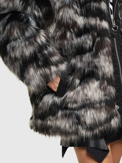 Diesel - L-ALYA, Black - Leather jackets - Image 5