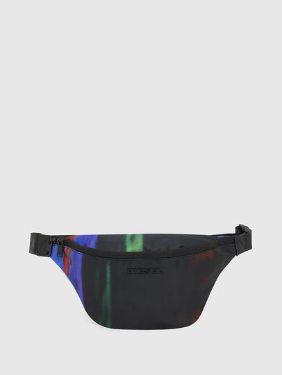 Diesel - F-SUSE BELT DM, Black/Blue - Belt bags - Image 1