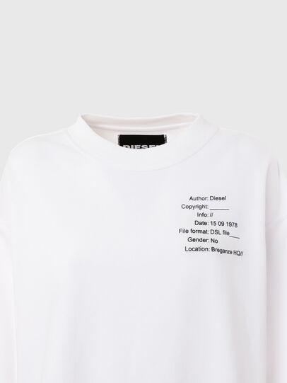 Diesel - UFTL-FELPH, White - Sweaters - Image 3