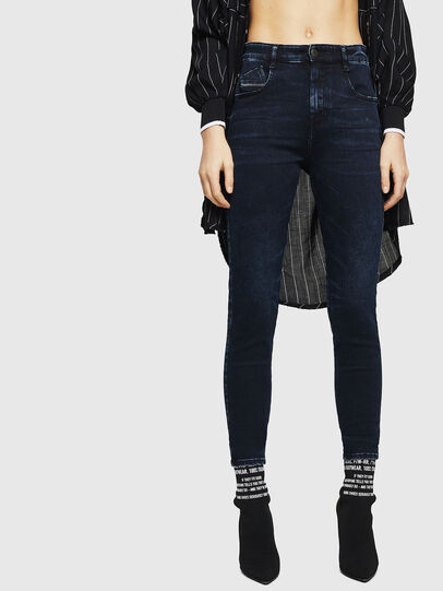 Diesel - Slandy High 082AU, Dark Blue - Jeans - Image 1