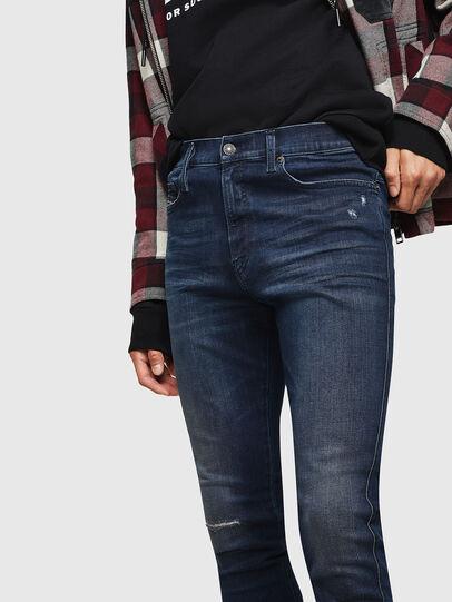 Diesel - D-Istort 0870C, Dark Blue - Jeans - Image 3