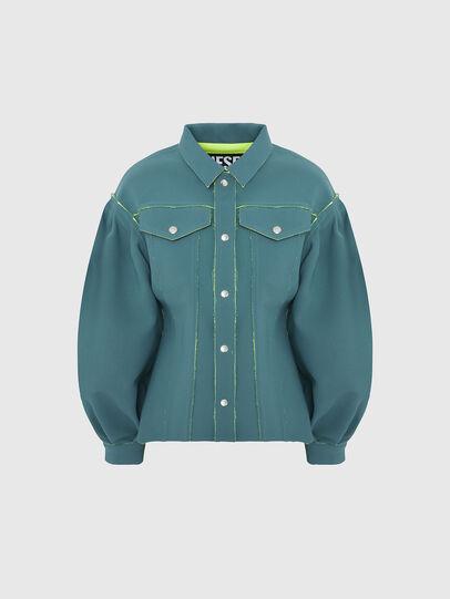 Diesel - G-ALBA, Water Green - Jackets - Image 1