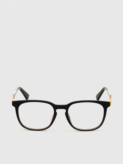 Diesel - DL5349, Black/Yellow - Eyeglasses - Image 1
