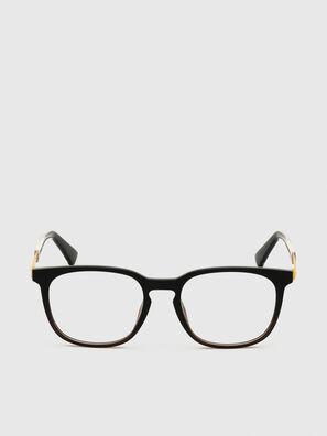DL5349, Black/Yellow - Eyeglasses