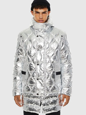 W-CRAWFORD, Silver - Winter Jackets