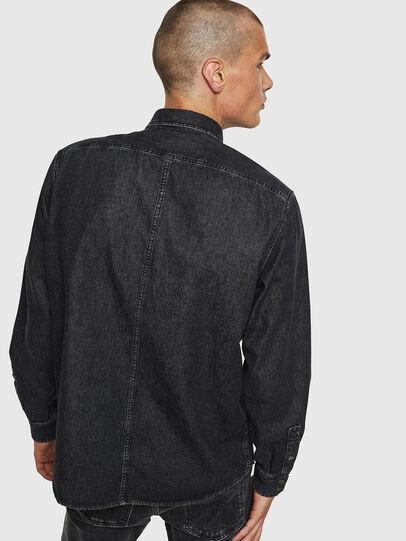 Diesel - D-BANDY-B, Black - Denim Shirts - Image 2