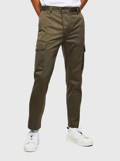 Diesel - P-JARED-CARGO, Green - Pants - Image 1