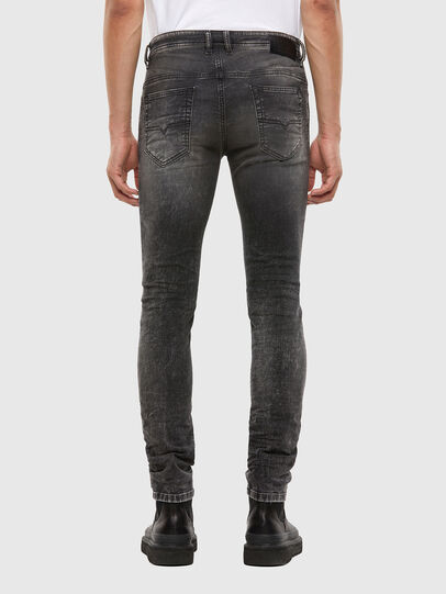 Diesel - Thommer JoggJeans 009KC, Black/Dark grey - Jeans - Image 2