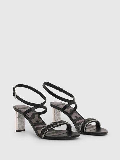 Diesel - SA-LEZIPPO, Black - Sandals - Image 2