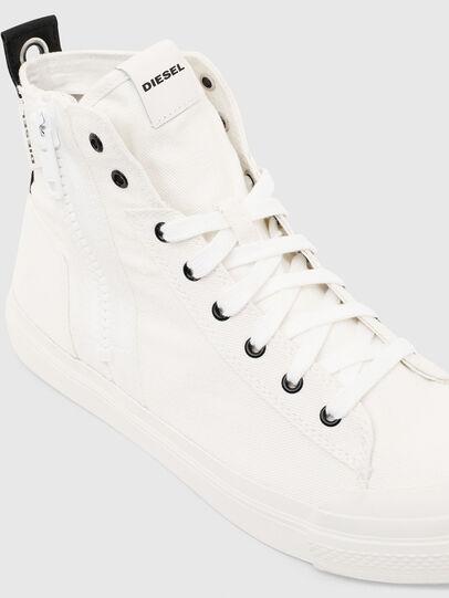 Diesel - S-ASTICO MID ZIP, White - Sneakers - Image 4