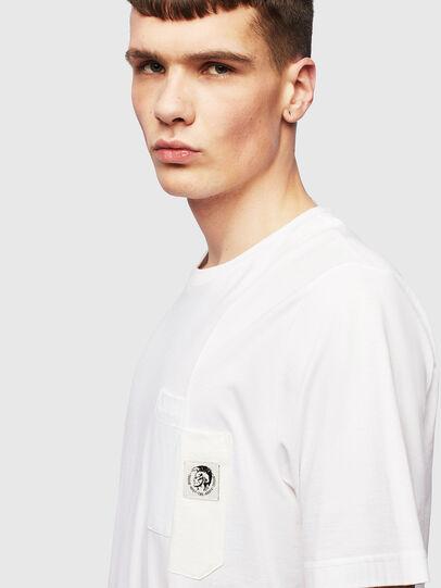 Diesel - T-RISEN, White - T-Shirts - Image 3