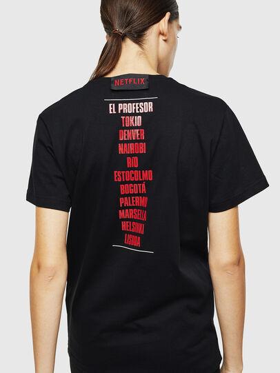 Diesel - LCP-T-DIEGO-CASA, Black - T-Shirts - Image 4