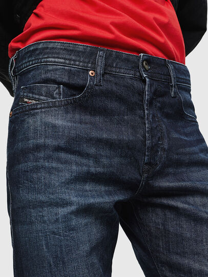 Diesel - Buster 0095W, Dark Blue - Jeans - Image 4