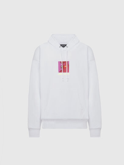 Diesel - S-ALBY-X5, White - Sweaters - Image 1