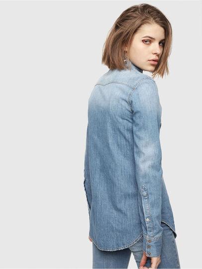 Diesel - DE-RINGY, Blue Jeans - Denim Shirts - Image 2