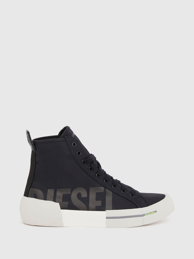 S-DESE MID CUT W, Black - Sneakers