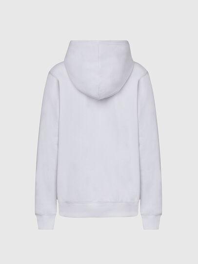 Diesel - F-ANG-HOOD-K20, White - Sweaters - Image 2