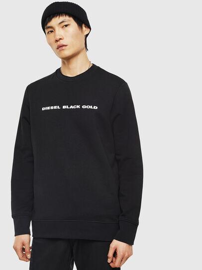 Diesel - SNEILB-A, Black - Sweaters - Image 1