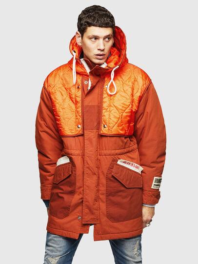 Diesel - W-KOVIK, Orange - Winter Jackets - Image 1