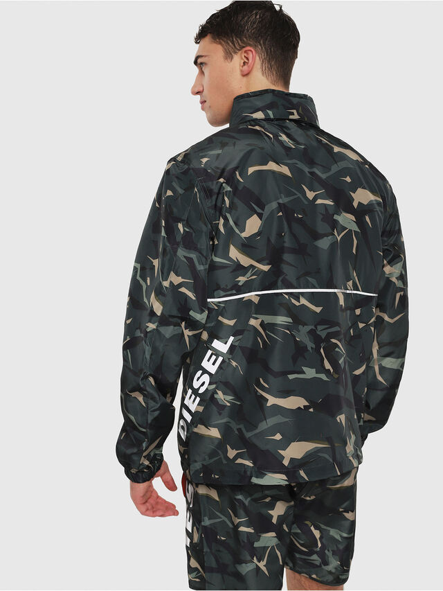 Diesel - BMOWT-WINDSEA-P, Green Camouflage - Out of water - Image 2