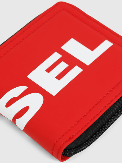 Diesel - ZIPPY HIRESH S, Fire Red - Zip-Round Wallets - Image 4