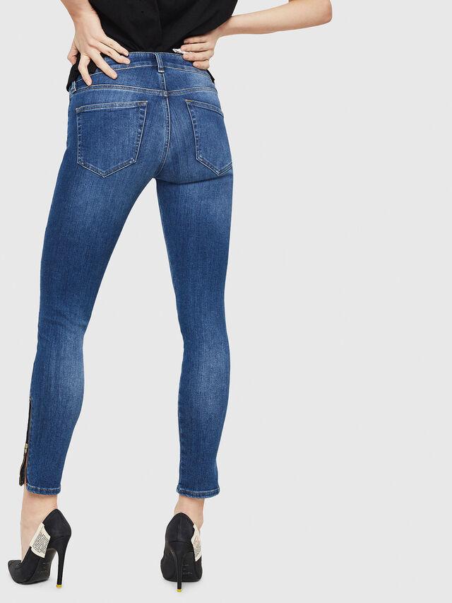 Diesel - Slandy Zip 088AU, Medium blue - Jeans - Image 2