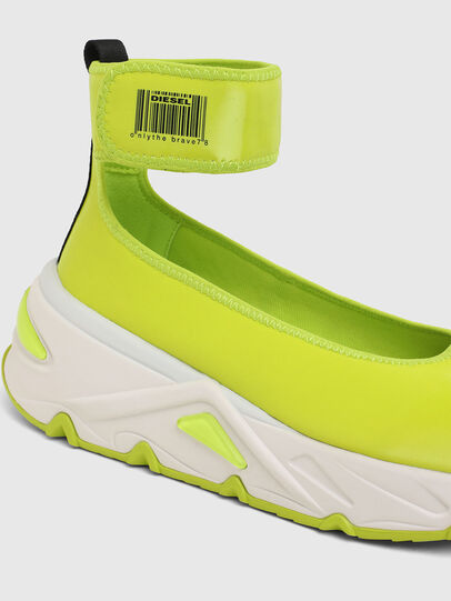 Diesel - S-HERBY BA W, Yellow - Flats - Image 5