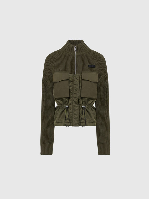 M-EKA, Military Green - Knitwear