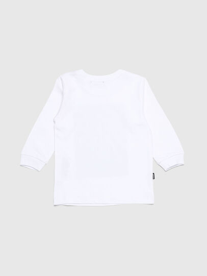 Diesel - TRAVEB, White - T-shirts and Tops - Image 2