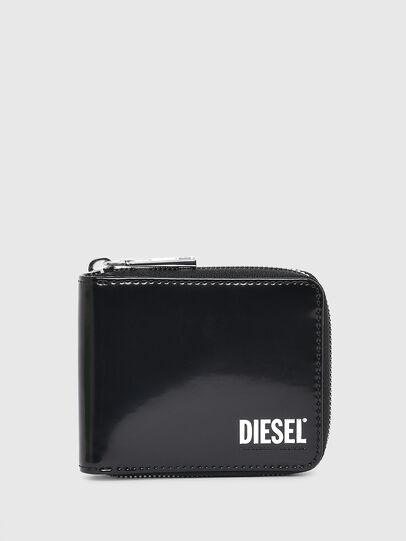 Diesel - HIRESH XS ZIPPI, Black - Zip-Round Wallets - Image 1
