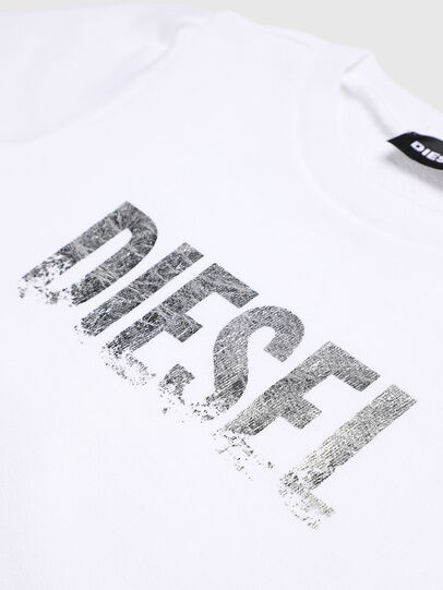 Diesel - SRALLYB-R, White - Sweaters - Image 3