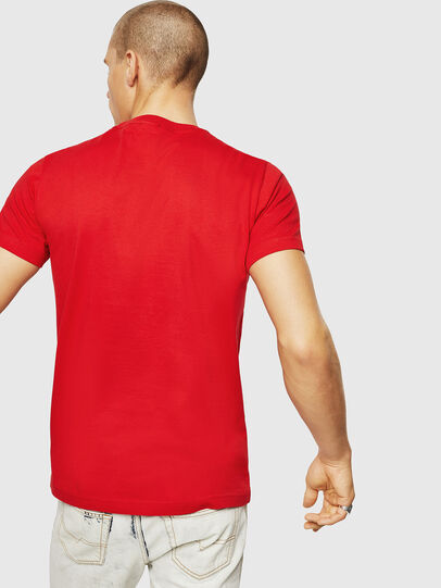 Diesel - T-DIEGO-A10, Fire Red - T-Shirts - Image 2