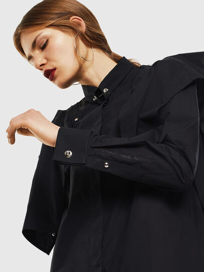 Diesel - C-RAILY-SHAPED, Black - Shirts - Image 6
