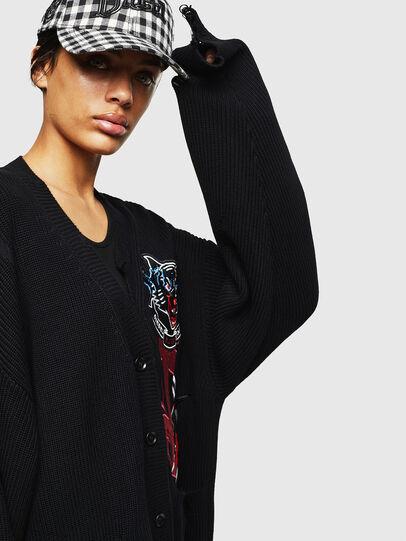 Diesel - M-JENNY, Black - Knitwear - Image 5