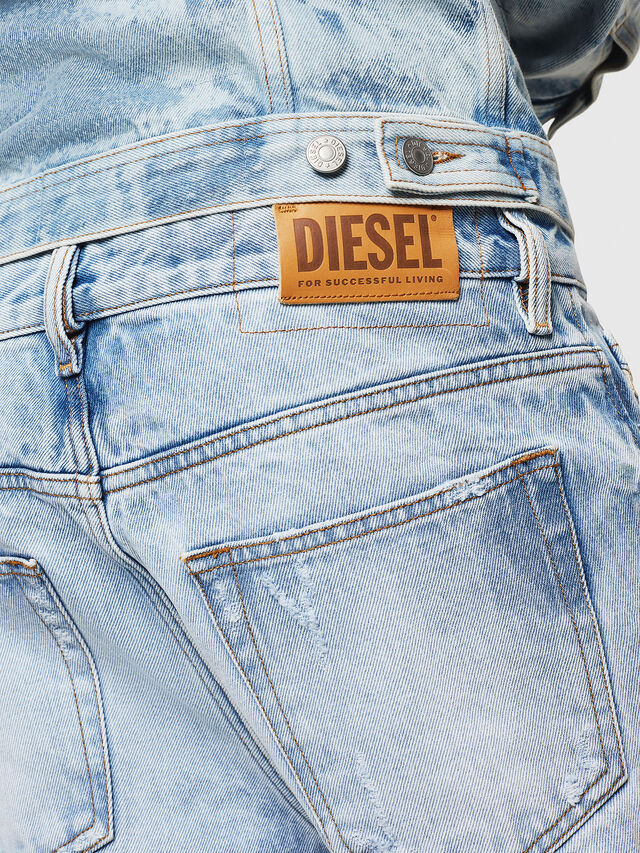 Diesel - D-Kodeck 0078C, Light Blue - Jeans - Image 4