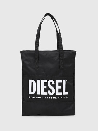 Diesel - BBAG-TOTE, Black - Beachwear accessories - Image 1