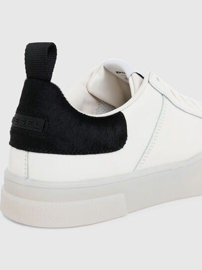 Diesel - S-CLEVER LOW LACE, White/Black - Sneakers - Image 4