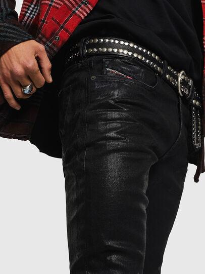 Diesel - Sleenker 0091F, Black/Dark grey - Jeans - Image 3