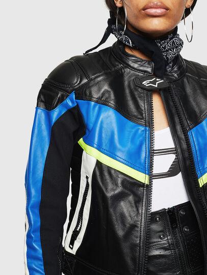 Diesel - ASTARS-LQUATTRO, Black - Leather jackets - Image 6