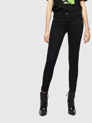 Slandy Low 069EF, Black/Dark grey - Jeans